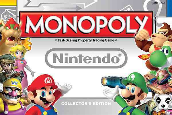 USAopoly Monopoly : Nintendo Collector�s Edition By Usaopoly (COR) at Sears.com